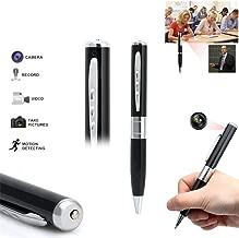 shootingstar cámara Oculta Spy Pen Camera 1080P, Full HD Spy Camera Monitor Mini DV Camera Portable Pen grabación Video