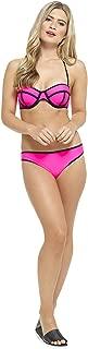 Tom Franks Ladies Neon Coloured Bikini Swimwear Pink - US 10-12 (UK 14)