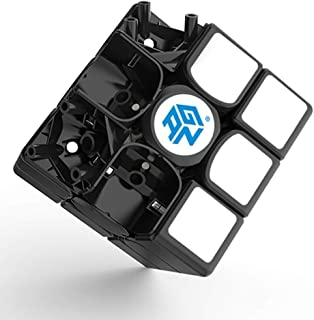 XMD Gans 356 Air SM Speed Cube 3x3 Black Gan 356Air S Magnetic Puzzle Cube with GES V2 Spring (Superspeed Magnetic Version)
