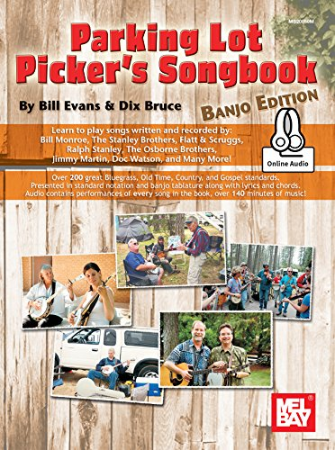 Price comparison product image Parking Lot Picker's Songbook - Banjo