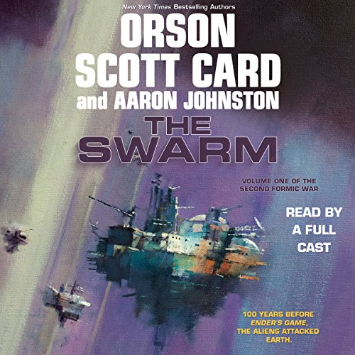 The Swarm                   By:                                                                                                                                 Orson Scott Card,                                                                                        Aaron Johnston                               Narrated by:                                                                                                                                 Stefan Rudnicki,                                                                                        Vikas Adam,                                                                                        Stephen Hoye,                   and others                 Length: 18 hrs and 1 min     3,277 ratings     Overall 4.7