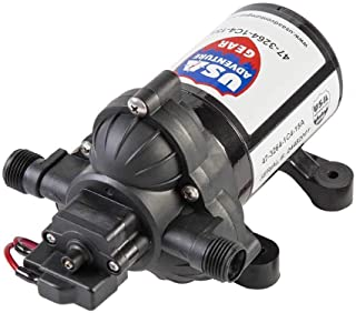 USA Adventure Gear Progear 3200 RV Replacement Water Pump | 4008 Revolution Direct Replacement | 3 GPM | Electric Whisper Quiet Operation | Self-Priming | Approved for Potable Water Use