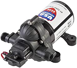 USA Adventure Gear Progear 3200 RV Replacement Water Pump   4008 Revolution Direct Replacement   3 GPM   Electric Whisper Quiet Operation   Self-Priming   Approved for Potable Water Use