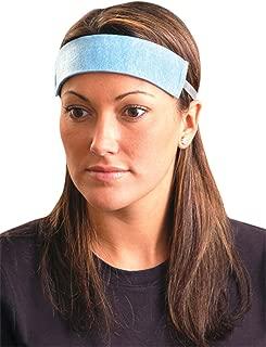 Occunomix 1X Disposable Sweatband, Original Soft, Large, Blue (Bag of 100)
