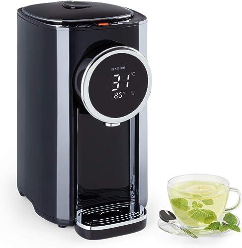 Klarstein Hot Spring Plus - Distributeur d'eau chaude : réservoir d'eau: 5L, écran LCD, températures: 45-95 °C, réser...