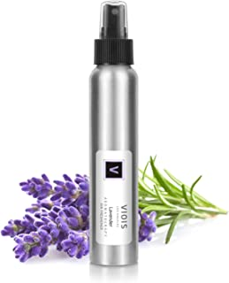 VIOIS, Aromatherapy Room Spray for Pillow, Linen, Car, Bedroom, Bathroom & Office. Pure Essential Oil Blend. Handmade in The USA (Lavender)