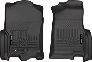 Husky Liners - 18371 Fits 2011-17 Ford Expedition EL, 2011-17 Lincoln Navigator L Weatherbeater Front Floor Mats Black
