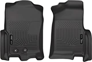 Husky Liners Fits 2011-17 Ford Expedition EL, 2011-17 Lincoln Navigator L Weatherbeater Front Floor Mats