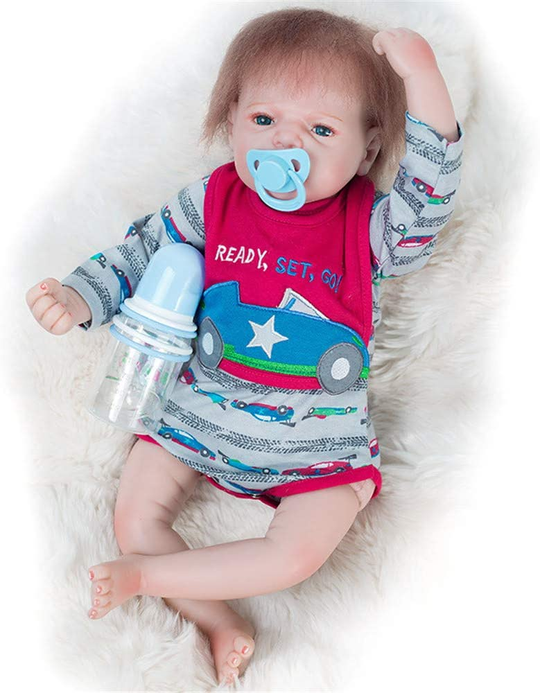 AFYH Directly managed 2021 spring and summer new store Reborn Toddler Dolls Soft Baby Real Girl Toys Doll