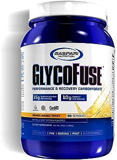 Gaspari Nutrition - Glycofuse - Rapid Performance, Recovery Carbohydrate, Energy & Endurance - 60 Serving (Orange Mango Tw...