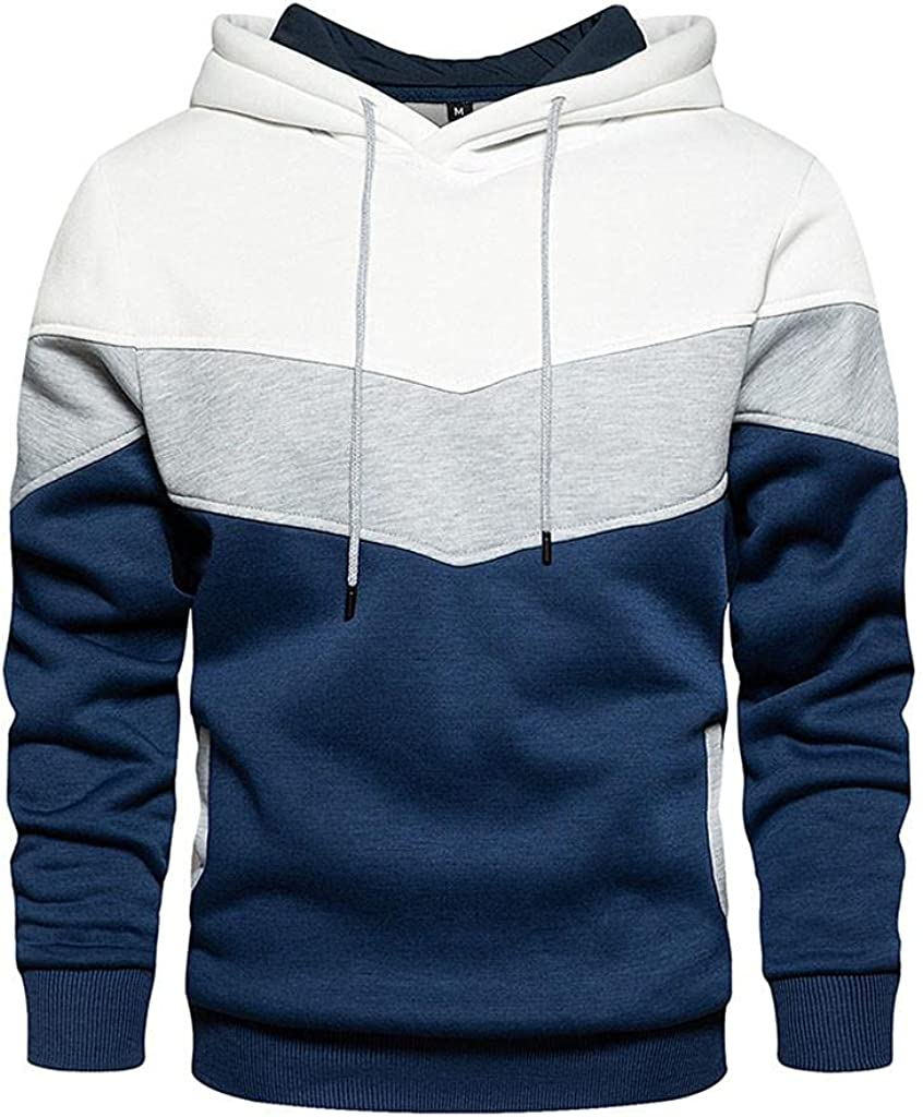 Sweatshirts for Men Plain Zipper Athletic Sweatshirt Long Sleeve Drawstring Workout Sweatshirts Gym Hooded Tops