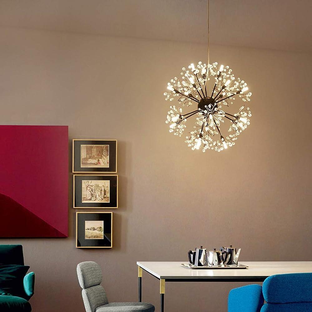 Kuandar chandelier,lampadario a ciondolo di arte,led RYYABC 205