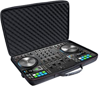 Zaracle S4 Mk3 Case,Portable Carrying Case Hardshell Suitcase Storage Bag Travel Case For Native Instruments Traktor Kontrol S4 Mk3 DJ Controller