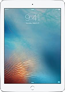 iPad Pro 9.7-inch (32GB, Wi-Fi + Cellular, Silver) 2016 Model (Renewed)