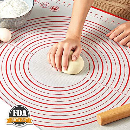 Pastry Mat for Rolling Dough, WeGuard...