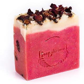 Soapylicious Sensual Rose Bar- Natural Handmade Organic Soap