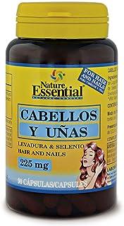 Cabellos y uñas 225 mg. (Levadura + selenio) 90 capsulas. Para fortalecer y frenar la caída