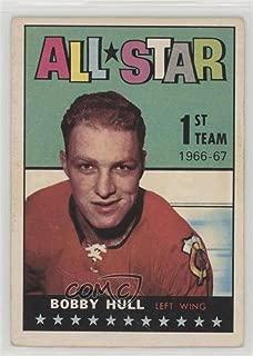 Bobby Hull Ungraded COMC Poor to Fair (Hockey Card) 1967-68 Topps - [Base] #124
