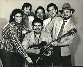 1980 Press Photo Jay Dominguez and The Stoney Ridge Band, Musicians - sap18403