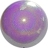 Pastorelli Pelota de gimnasio con purpurina HV (alta visión) (lila bebé)