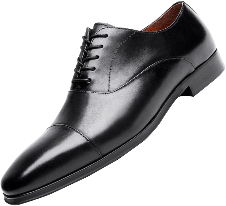 LEDLFIE Mann's läder skor Business Business Business läder skor herrar skor  grossist billig