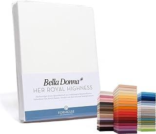 Bella-Donna Bella-Donna Jersey Drap housse - Safran 0537, 80 cm x 200 cm