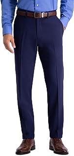 Haggar Men's Active Series Stretch Slim Fit Suit Separate Pant Business Suit Pants Set