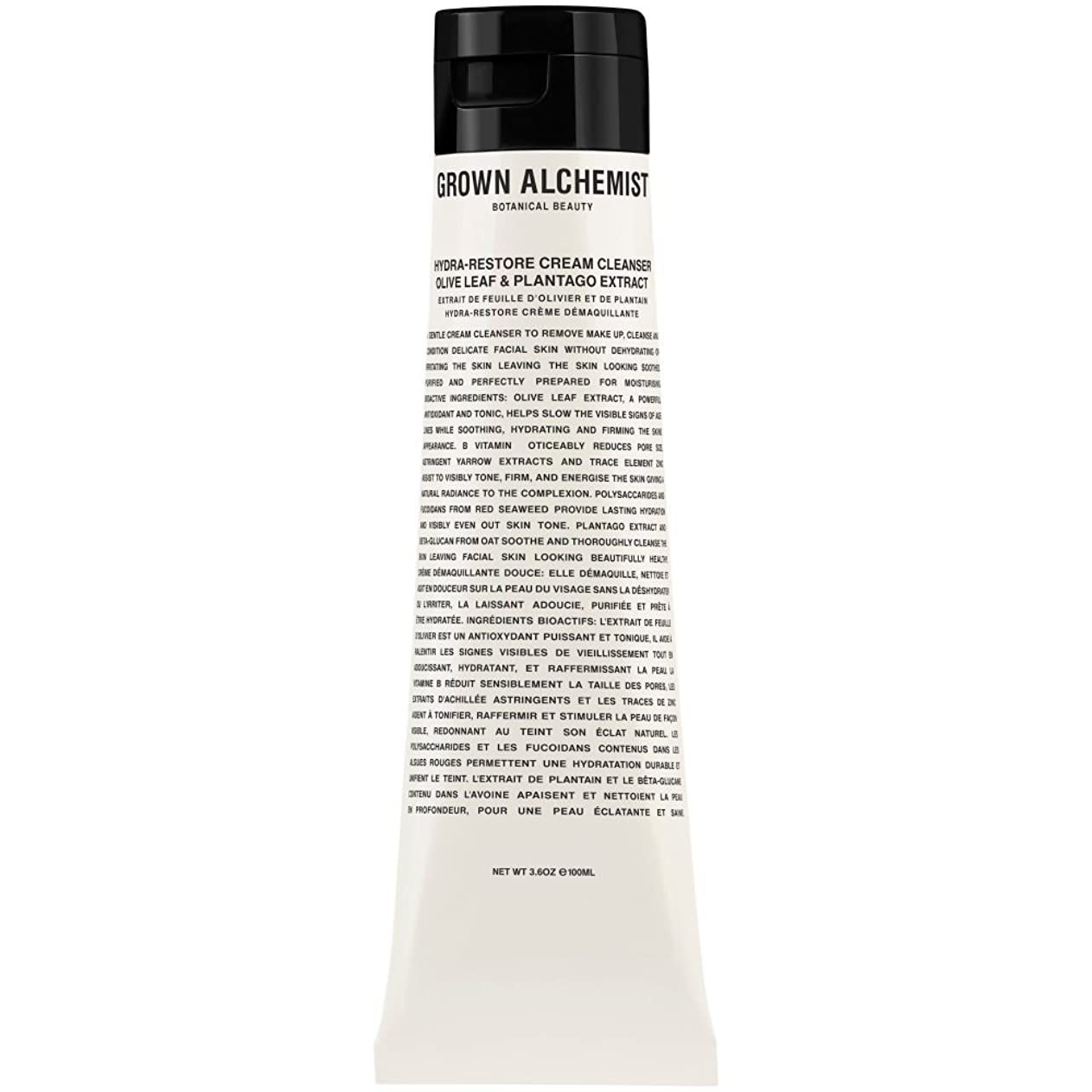会話奴隷乏しいオリーブの葉&Plantogoエキス、100ミリリットル:成長した錬金術師クリームクレンザーをヒドラ復元 (Grown Alchemist) (x2) - Grown Alchemist Hydra-Restore Cream Cleanser: Olive Leaf & Plantogo Extract, 100ml (Pack of 2) [並行輸入品]