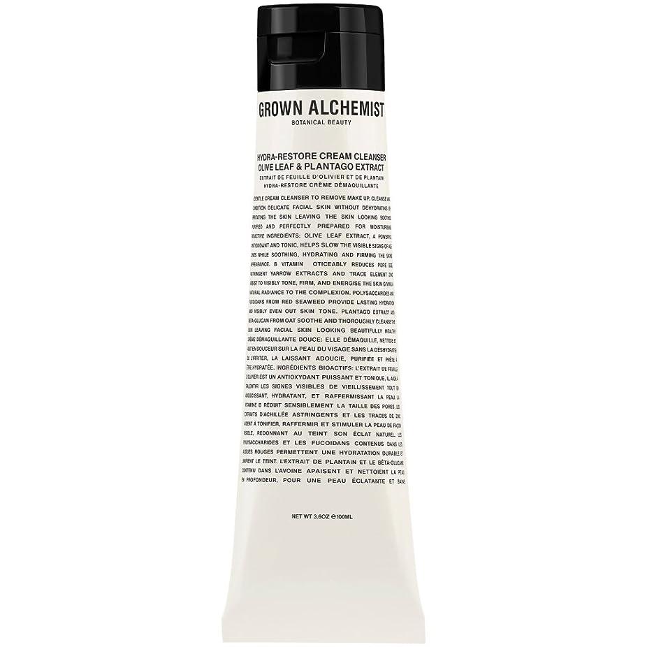 不平を言うエンジニアリング寄生虫オリーブの葉&Plantogoエキス、100ミリリットル:成長した錬金術師クリームクレンザーをヒドラ復元 (Grown Alchemist) (x6) - Grown Alchemist Hydra-Restore Cream Cleanser: Olive Leaf & Plantogo Extract, 100ml (Pack of 6) [並行輸入品]