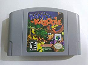 Banjo-Kazooie and Banjo-Tooie Game Card For Nintendo 64 N64 US Version (2 Games)