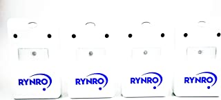 RYNRO Ultrasonic Pest Repeller - Repellent for mice, Rats, Mosquitoes, Moths, roaches - Pest Control for Rodents and Insects - Improved Edition