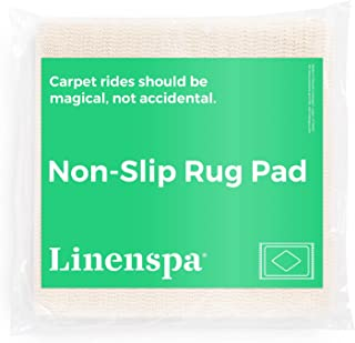 Linenspa Non-Slip Area Rug Pad - 2 x 8 Feet - Excellent Grip - Indoor - Rubberized