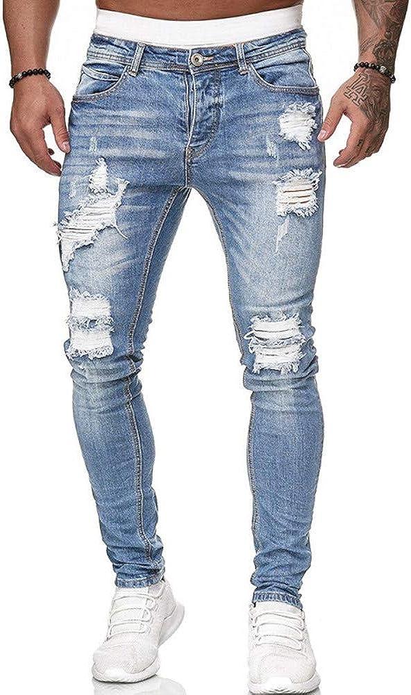 Tasty Life Jeans De Hombre De Europa Y Nuevos Jeans ...