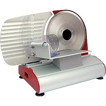 Rgv 110901 Mary 220 - Affettatrice, Struttura in alluminio, Potenza Motore 200 Watt, Lama 220 mm, Spessore di taglio fino a 14 mm