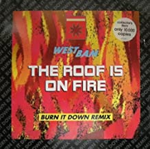 Roof is on fire (Burn It Down Remix, 1990) / Vinyl Maxi Single [Vinyl 12'']