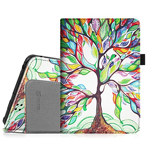 Fintie Folio Case for Kindle Fire HD 7' (2012 Old Model) - Slim Fit Leather Cover with Auto Sleep/Wake Feature (will only fit Amazon Kindle Fire HD 7, Previous Generation - 2nd), Love Tree