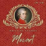 Wolfgang Amadeus Mozart - 10 CD - Sinfonien, Klaviersonaten, Klavierkonzerte