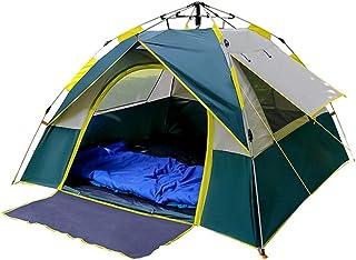 2人用インスタントキャンプテント、210T防水UVプロテクション、自動ポップアップ日よけシェルター、屋外ハイキングキャンプに最適ピクニック旅行