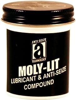 Moly-LIT 12002 Molydbenum Disulfide and Graphite Anti-Seize Compound, 2 oz, Black, Paste