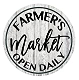 Farmer's Market sign - open daily