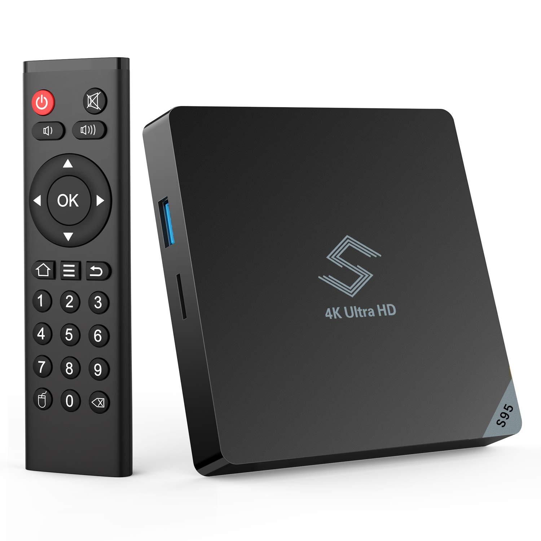 Smart TV Box -Bqeel Y5 Android 8.1 TV Box de Amlogic S905X2 Quad-Core Arm Cortex-A53 con 4G+64G,2.4G+5.8G Doble WiFi,BT4.0 Android TV Box: Amazon.es: Electrónica