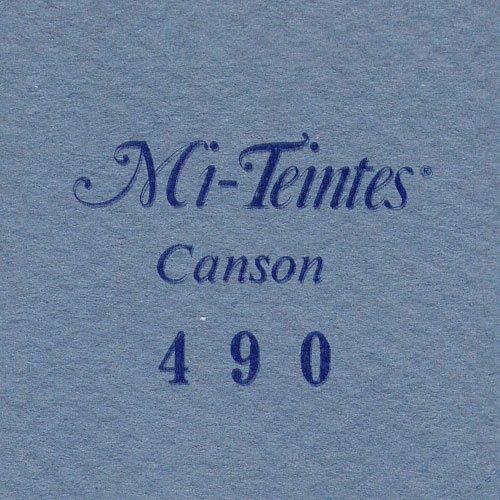 マルマン 色画用紙 キャンソン ミタント ポストカードサイズ 490 ライトブルー 50枚 POST490P 【まとめ買い3冊セット】