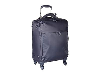 Lipault Paris Original Plume 22 Spinner Carry On (Steel Blue) Carry on Luggage