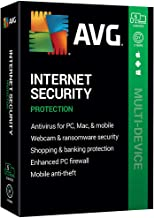 $69 » AVG Technologies AVG Internet Security 2020, 5 Devices 2 Year 2020