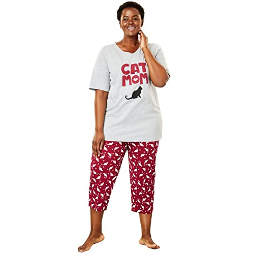 Women s Plus Size Pajamas 3X  Amazon.com 189d691dc