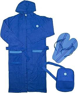SSC NAPOLI P19b3n90654 Albornoz para niño de microfibra Unisex niños