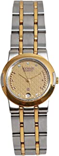 Casual Watch for Women by Accurate, Gold, Square, ALQ372