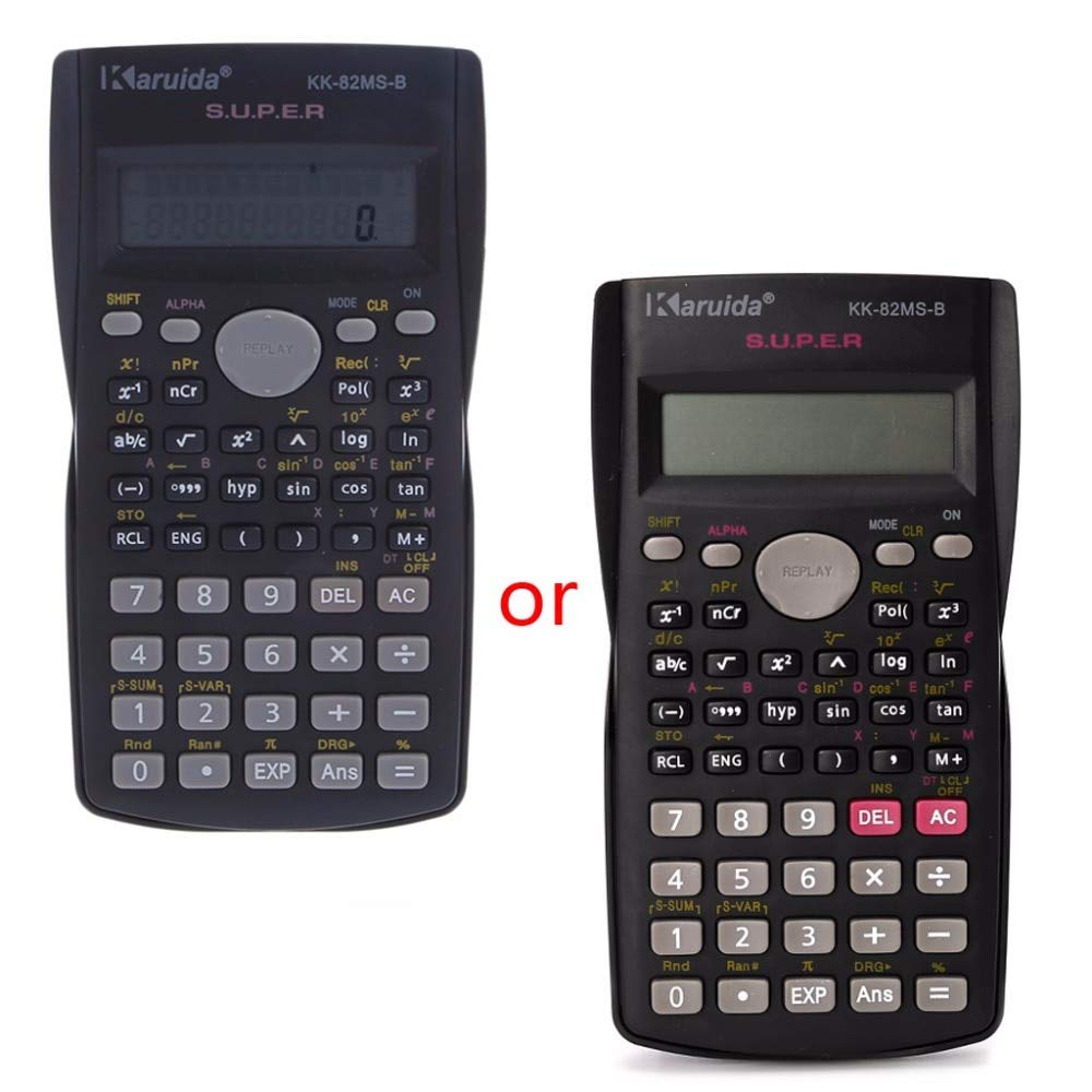 HEASEN New Function Calculator 82MS-A National products Handheld New mail order Multi-Function 2-