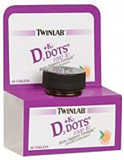 Sponsored Ad - Twinlab Vit D3 1000 & K2 Dots, 3 pk