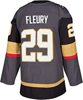 Mens'_Marc-Andre_Fleury_#29_Grey Jerseys Fans Game Jersey Sportswear